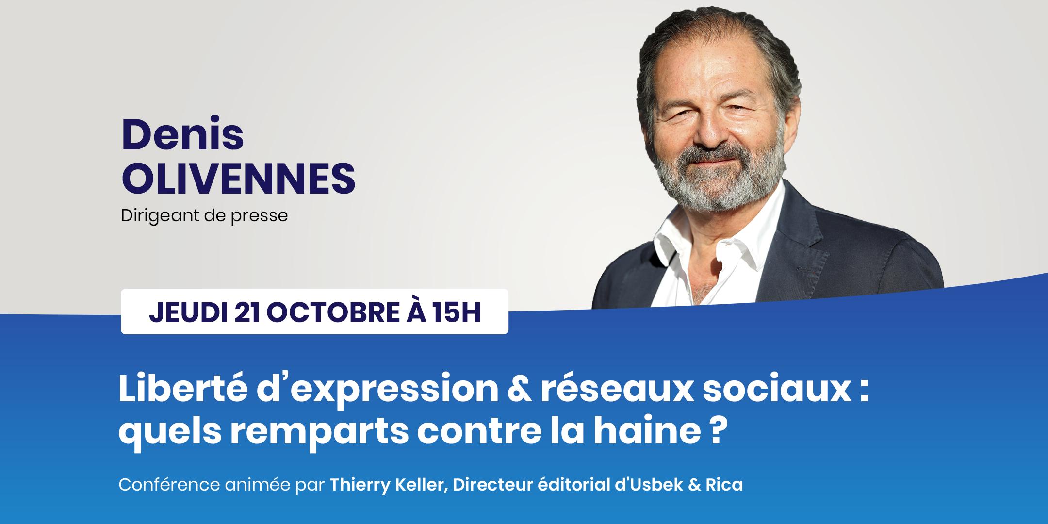 conférence Denis Olivennes